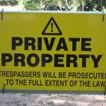 property encroachment